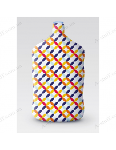 """Case for bottle """"Bright circles"""""""