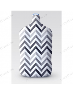 """Pouch for bottle """"Zigzag"""""""