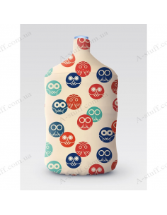"""Pouch for bottle """"Owls"""""""