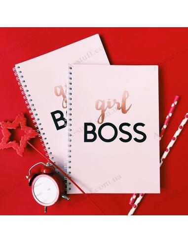 """Notepad """"girl BOSS"""""""