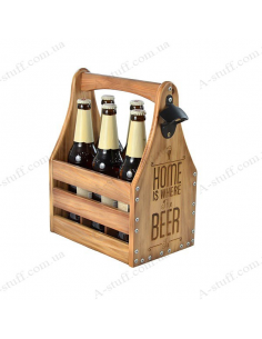 "Beer box 0.5 ""Home is where the Beer is"""