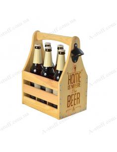 """Ящик для пива 0.5 """"Home is where the Beer is 2"""""""