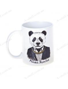 """Чашка """"Панда — Мишка Япончик"""""""
