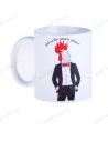 """Cup """"Rooster - So that money will attack you"""""""