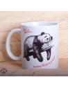 """Чашка """"Панда - Ща тільки візьму розгін"""""""