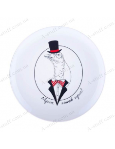 "Plate ""Goose - Musik is goose ready"""