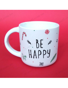 "Cup ""Be happy"""