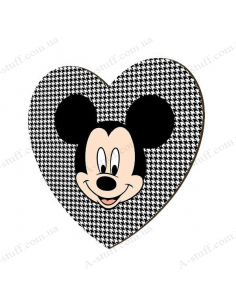 "Wooden magnet ""Mickey Mouse"""