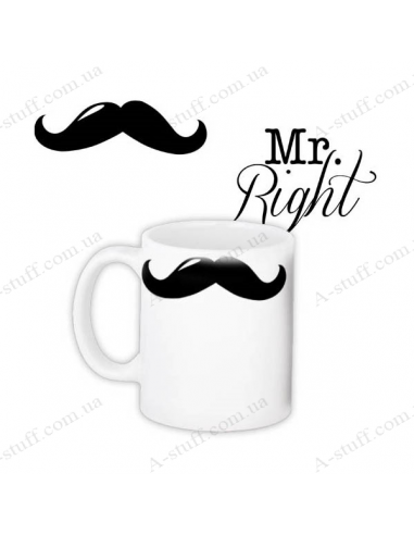 """Чашка """"Mr. Right"""""""