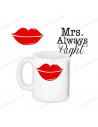 "Cup ""Mrs. Always Right"""