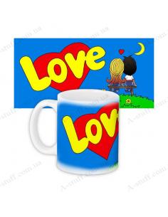 "Чашка ""Love is"""