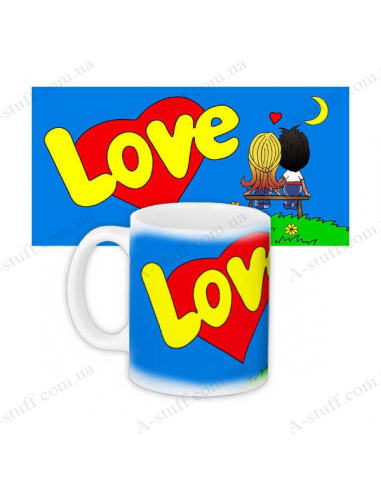 "Cup ""Love is"""