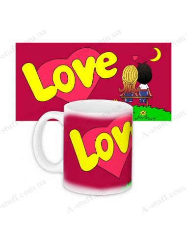 "Кружка ""Love is"""