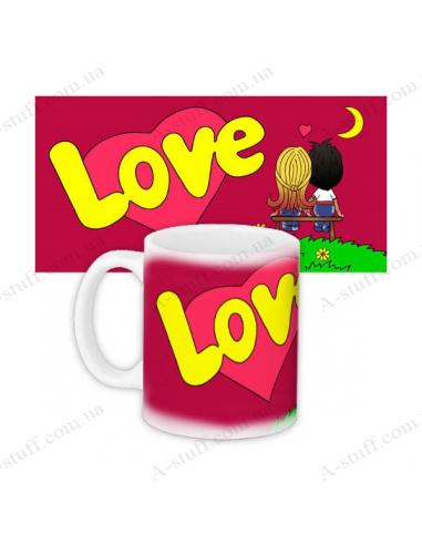 "Mug ""Love is"""