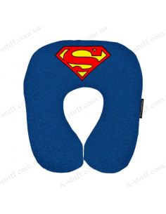 """Pillow for travel """"Superman"""""""