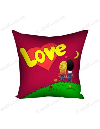 "Pillow decorative ""Love"""