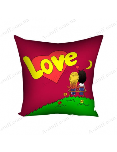 """Подушка декоративна """"Love"""""""