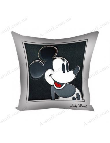 """Подушка декоративна """"Mickey Mouse by Warhol"""""""