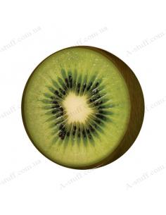"""Round pillow - ottoman """"Kiwi"""""""