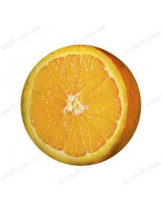 """Round pillow - ottoman """"Orange"""""""
