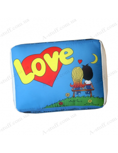 """Decorative pillow """"Love is"""""""