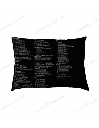 """Оригінальна подушка """"Код"""""""