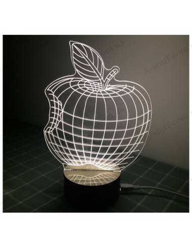USB Lamp 3D Apple