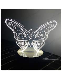 USB Lamp 3D Butterfly
