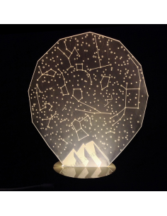 USB Lamp 3D Starry sky