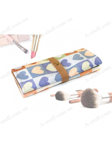 "Brush case ""Warm hearts"""