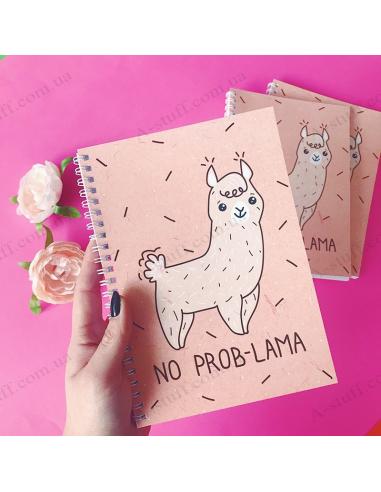 "Notepad ""No Prob-lama"""