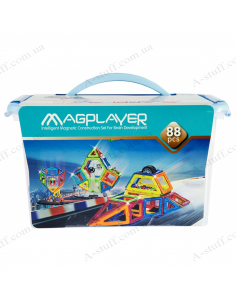Magnetic Kit MagPlayer (88 elements)