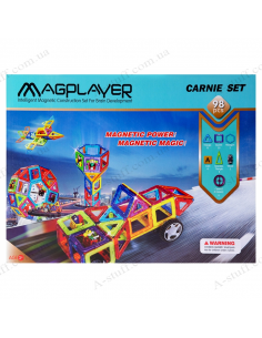 Magnetic Kit MagPlayer (98 elements)