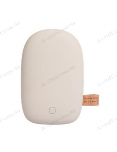 2E Power Bank Stone 10050mAh White
