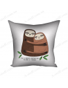"""Pillow decorative """"Thank you for your warmth!"""""""