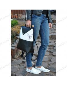 """Жіночий міський рюкзак """"Сова"""""""