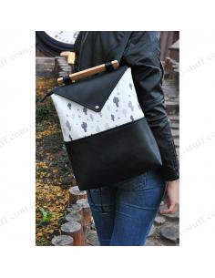 "Unusual female backpack ""Cactus"""