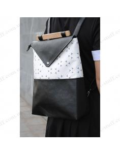 "Stylish women's backpack ""Triangle"""