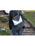 "Жіночий рюкзак ""White and Grey"""