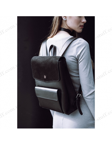 City backpack Blank - black point