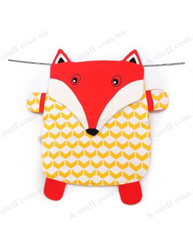 Peripop game rug Fox