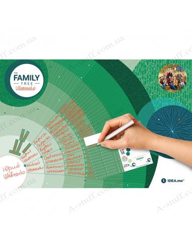 """Інтерактивний постер """"Family Tree"""""""