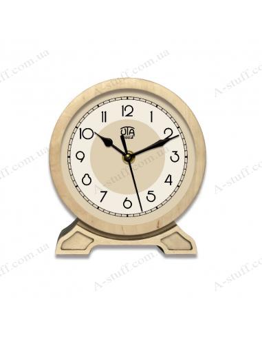 """Годинник настільний """"WOOD"""" 2.6"""