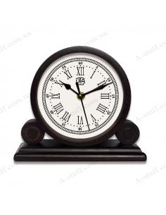 "Desktop clock ""WOOD"" 4.5"