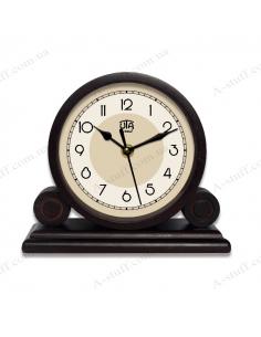 "Desktop clock ""WOOD"" 4.6"