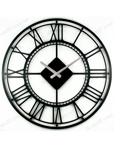 "Metal wall clock ""London"""