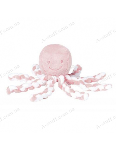 Soft toy Lapidus Octopus pink