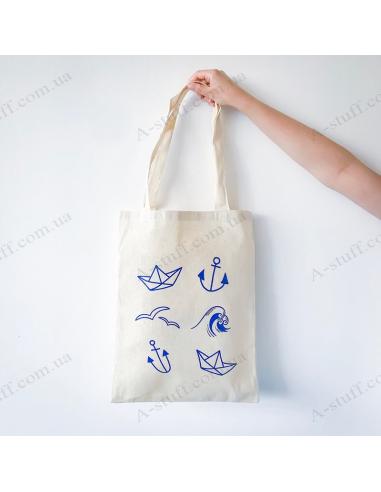 """Еко - сумка """"Морська"""""""