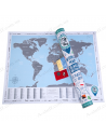 Discovery Map Flags Edition (world map English with flags)