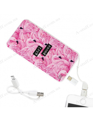 "Power Bank 5000 mAh ""Фламінго"""